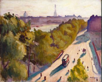 Quai du Louvre Summer | Marquet Albert | oil painting