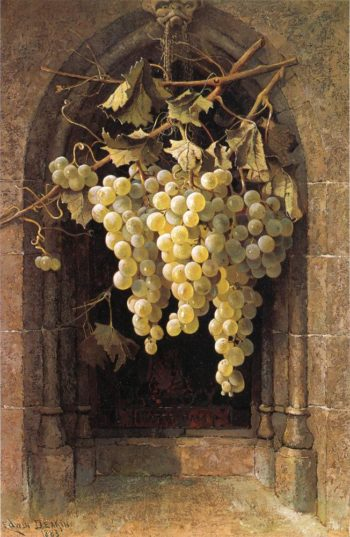 Grapes | Edwin Deakin | oil painting