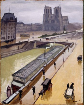 Rainy Day. Notre Dame de Paris | Marquet Albert | oil painting