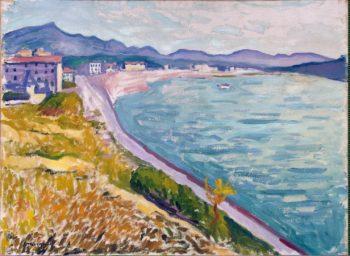 View of Saint-Jean-de-Luz | Marquet Albert | oil painting