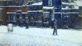 Messinger Boy | Frederick Childe Hassam | oil painting