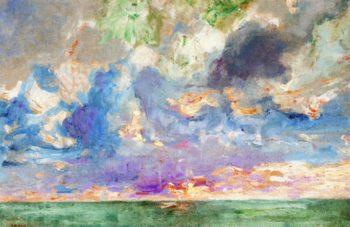 Sky Study | Frans Gaillard | oil painting