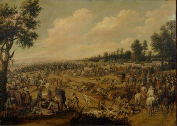 Attack upon a Cart | Vrancx Sebastiaen (circle) | oil painting