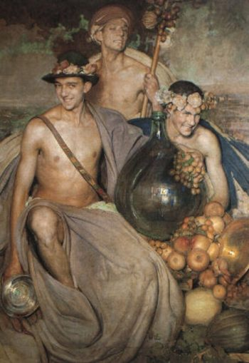 Alegoria a baco | Gabriel Morcillo Raya | oil painting