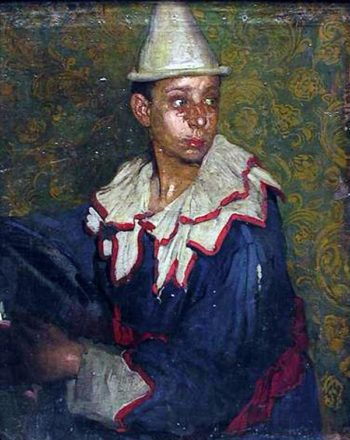 Arlequin | Gabriel Morcillo Raya | oil painting