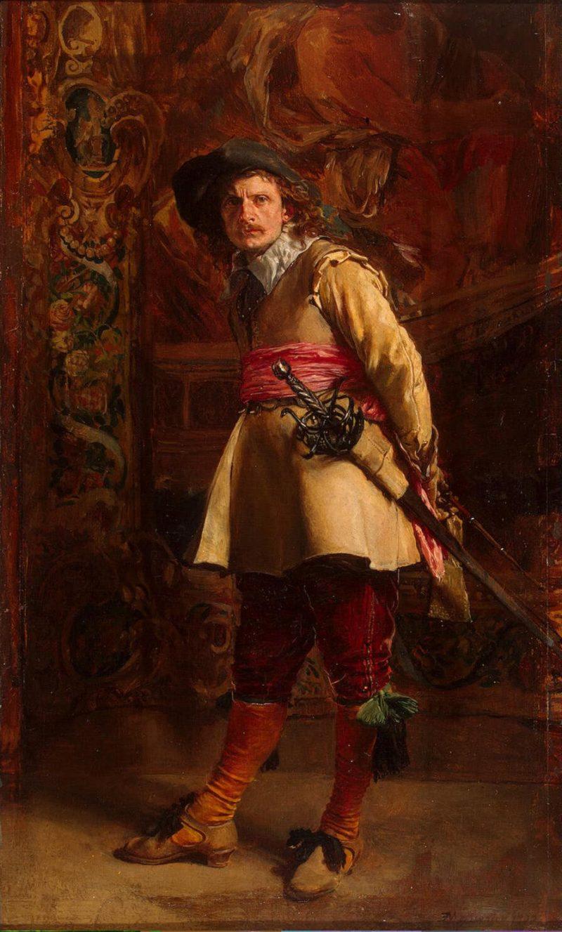 Musketeer | Meissonnier Jean-Louis Ernest | oil painting
