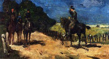 De Wandelrit | George Hendrik Breitner | oil painting