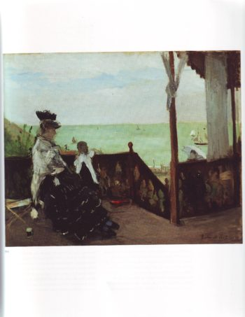 In a villa at the seaside1 | Berthe Morisot | oil painting