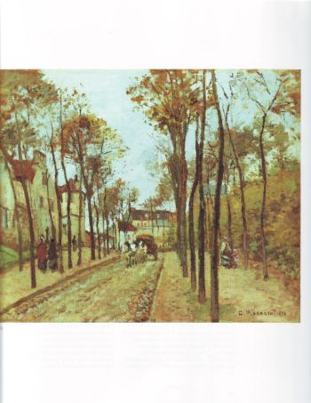 The boulevard des fosses | Camille Pissarro | oil painting