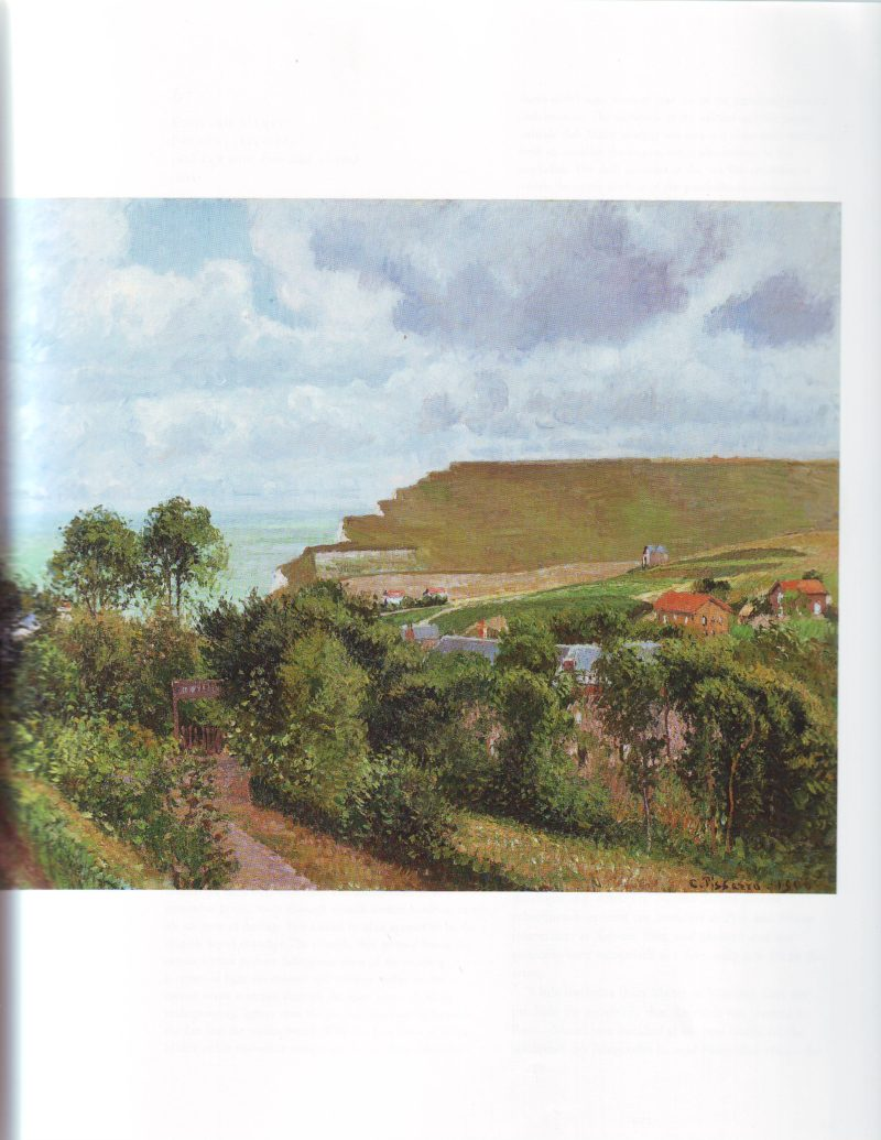 View of Berneval | Camille Pissarro | oil painting