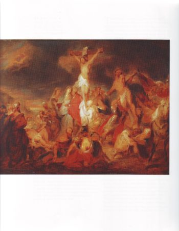 The Crucifixion | Circle Of Eugene Delacroix | oil painting