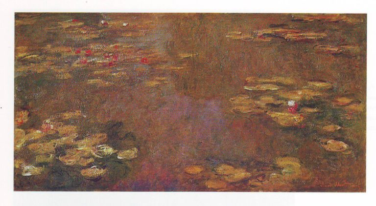 Basin of water lilies | Claude Monet | oil painting