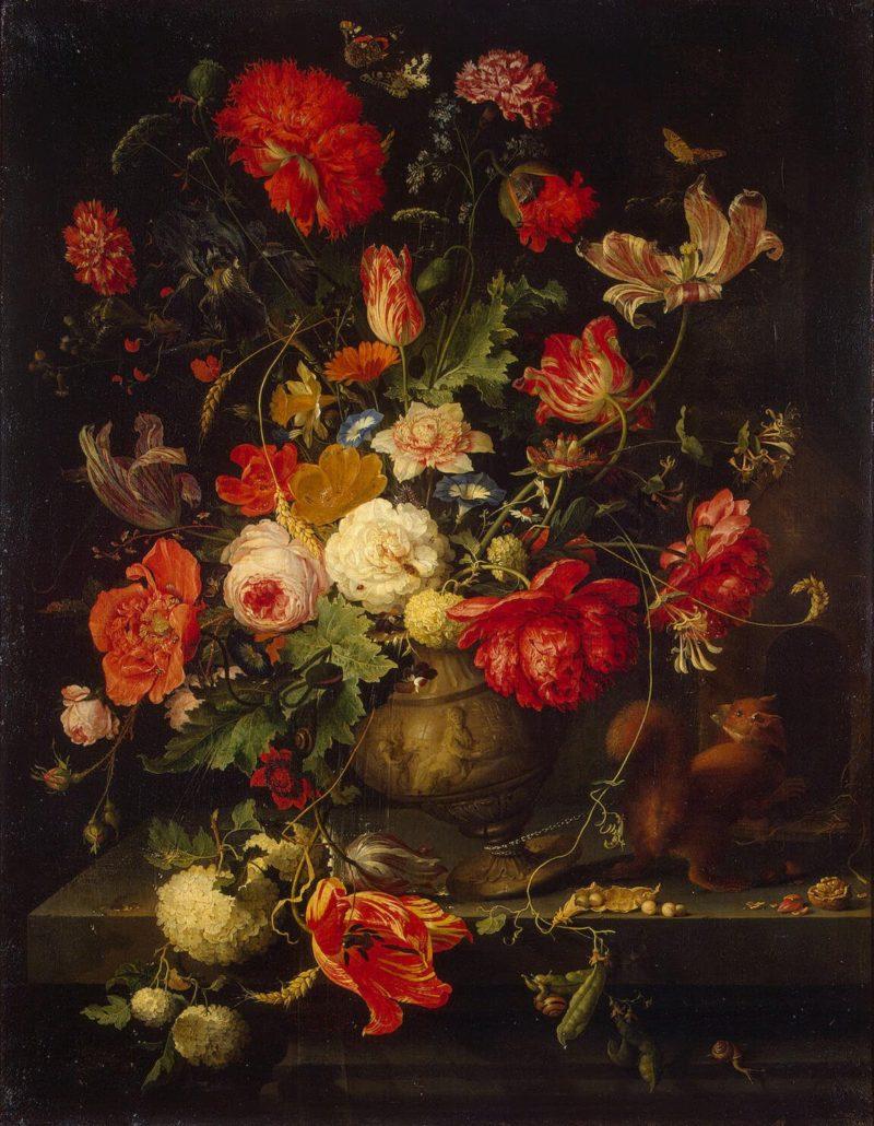 Vase of Flowers | Mignon Abraham | oil painting