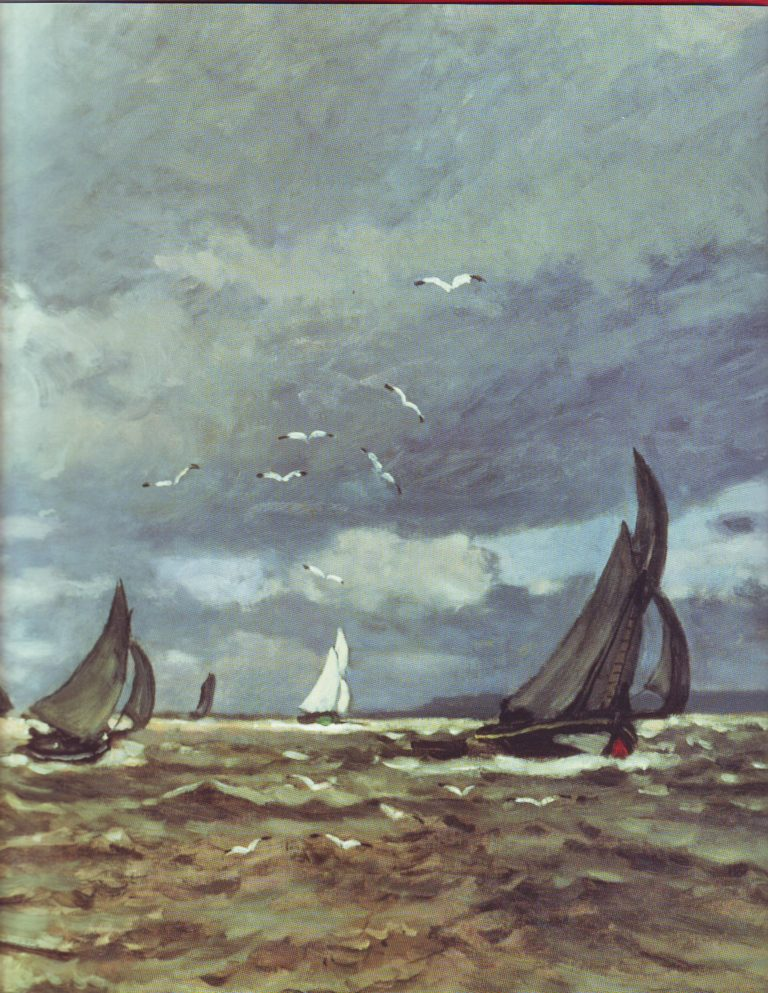 Mouth of the seine | Claude Monet | oil painting