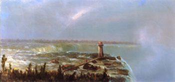 Niagara Falls | Marie Francois Regis Gignoux | oil painting