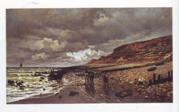 Pointe de la heve at low tide | Claude Monet | oil painting