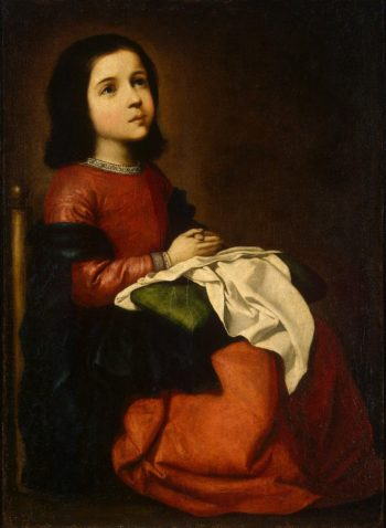Childhood of the Virgin | Zurbaran Francisco de | oil painting