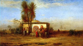 An Arab Fountain | Robert Swain Gifford | oil painting
