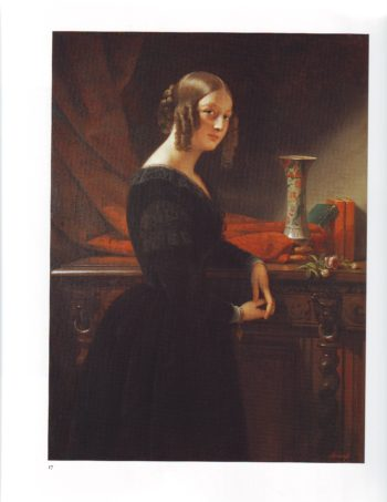 Portrait of a young woman | Claude Marie Dubupe | oil painting
