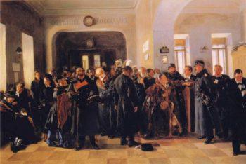Bankruptcy | Vladimir Yegorovich Makovsky | oil painting
