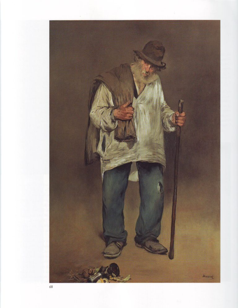 The ragpicker | Edouard Manet | oil painting