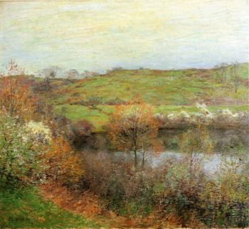 Buds and Blossoms 1907 | Willard Leroy Metcalf | oil painting