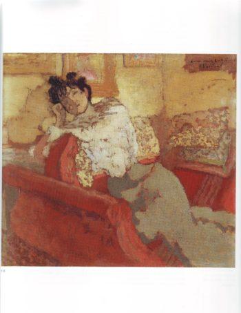 Lucie hessel | Edouard Vuillard | oil painting