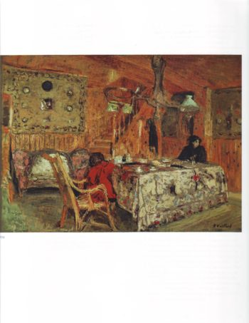 The pitch pine room | Edouard Vuillard | oil painting