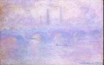 Waterloo Bridge. Effect of Fog | Monet Claude | oil painting