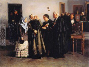 Not Guilty | Vladimir Yegorovich Makovsky | oil painting
