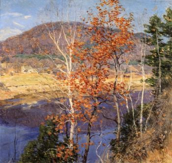 Closing Autumn 1924 | Willard Leroy Metcalf | oil painting