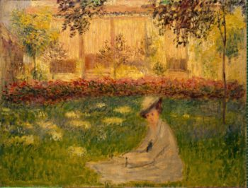 Woman in a Garden | Monet Claude | oil painting