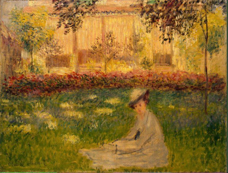 Woman in a Garden | Monet Claude | oil painting