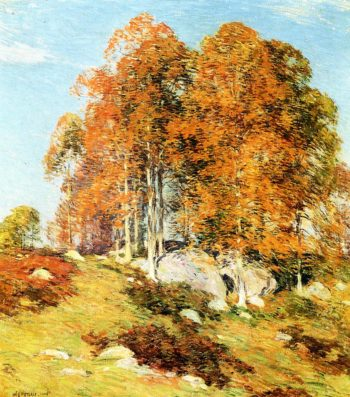 Early October 1906 | Willard Leroy Metcalf | oil painting