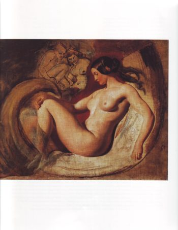 Study for leda and the swan | Eilliam Etty | oil painting