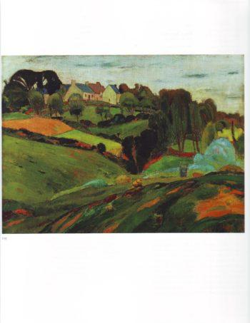 Birttany landscape | Emile Bernard | oil painting