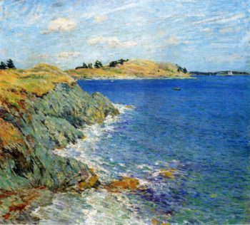Ebbing Tide Version Two 1907 | Willard Leroy Metcalf | oil painting