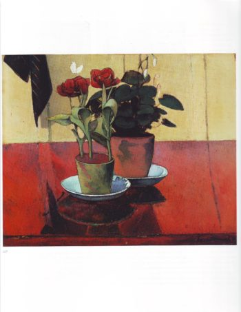 Still life with flowers   Emile Bernard   oil painting