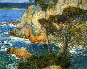 Point Lobos, Carmel Frederick Childe Hassam