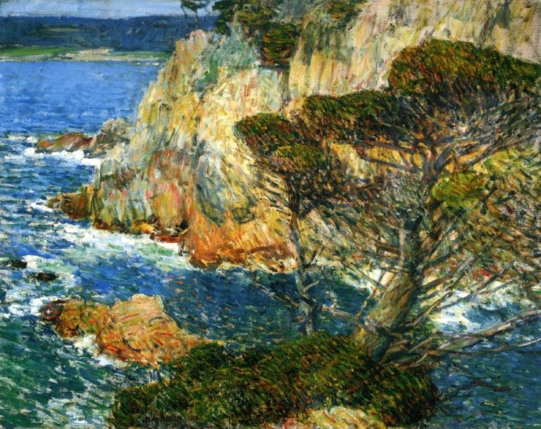 Point Lobos, Carmel Frederick Childe Hassam