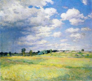 Flying Shadows 1905 | Willard Leroy Metcalf | oil painting