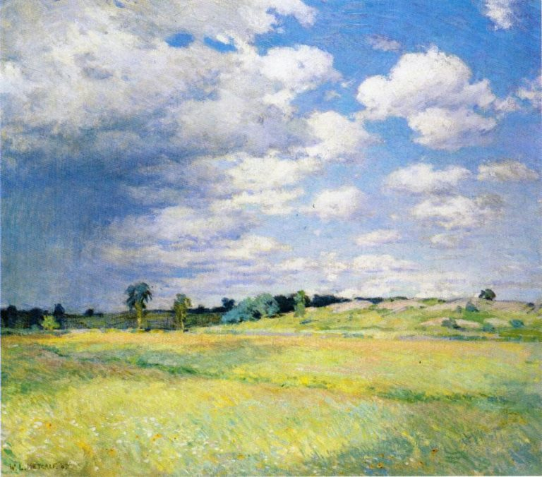 Flying Shadows 1905 | Willard Leroy Metcalf | oil painting