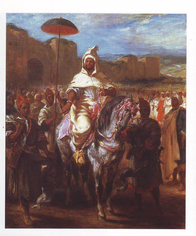 Abd er rabman | Eugene Delacroix | oil painting