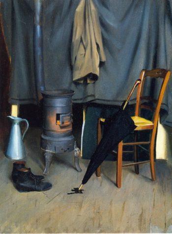 Interior of the Paris Studio | William MacGregor Paxton | oil painting