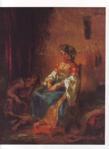 Jewish bride of tangier | Eugene Delacroix | oil painting