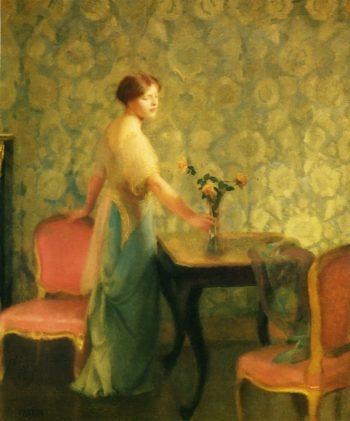 Penumbra | William MacGregor Paxton | oil painting