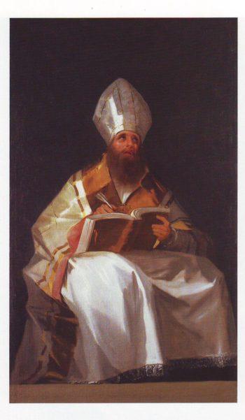 Saint Ambrose | Francisco De Goya Y Lucientes | oil painting