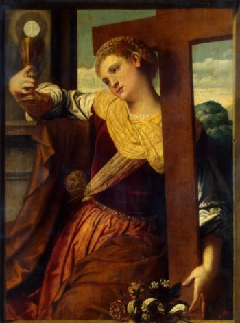 Allegory of Faith | Moretto da Brescia (Alessandro Bonvicino) | oil painting