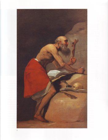 Saint Jerome in penitence | Francisco De Goya Y Lucientes | oil painting