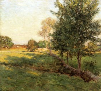 Lenghtening Shadows | Willard Leroy Metcalf | oil painting